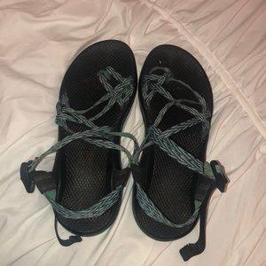 Lightly worn Chacos